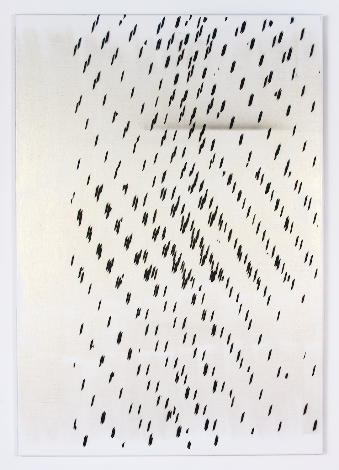 Nathan Hylden  Untitled  2008 Acrylic on linen 67 ½h x 47w in NH2908