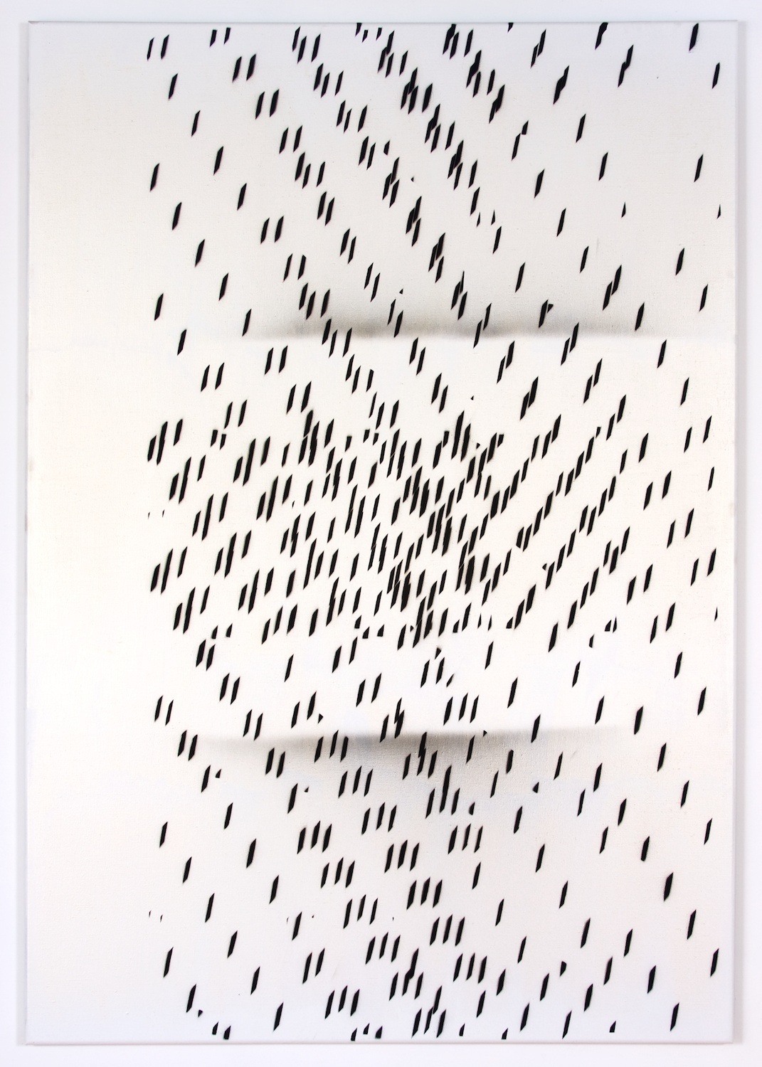 Nathan Hylden  Untitled  2008 Acrylic on linen 67 ½h x 47w in NH3008