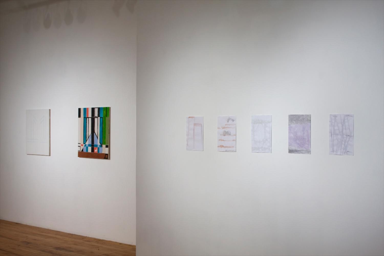 Bianca Beck, Josh Brand, Matt Connors, Zak Prekop, Hayley Tompkins, Sue Tompkins 2008 Shane Campbell Gallery, Chicago Installation View