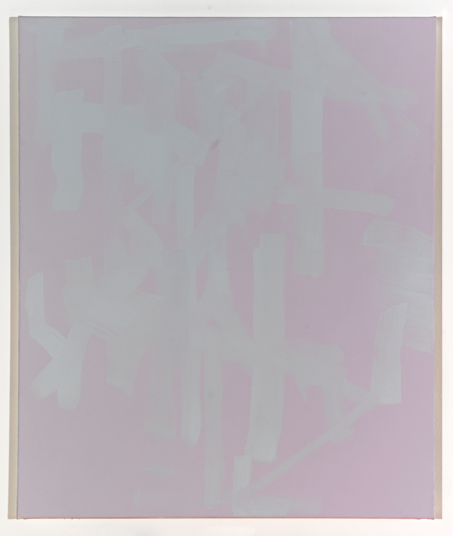 Zak Prekop  Untitled (Purple and Grey)  2008 Oil on canvas 28h x 24w in ZP006