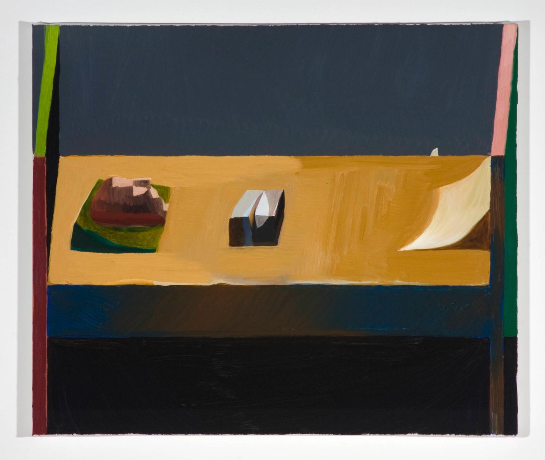 Jesse Chapman  Untitled  2008 Oil on linen 17h x 20w in JC012