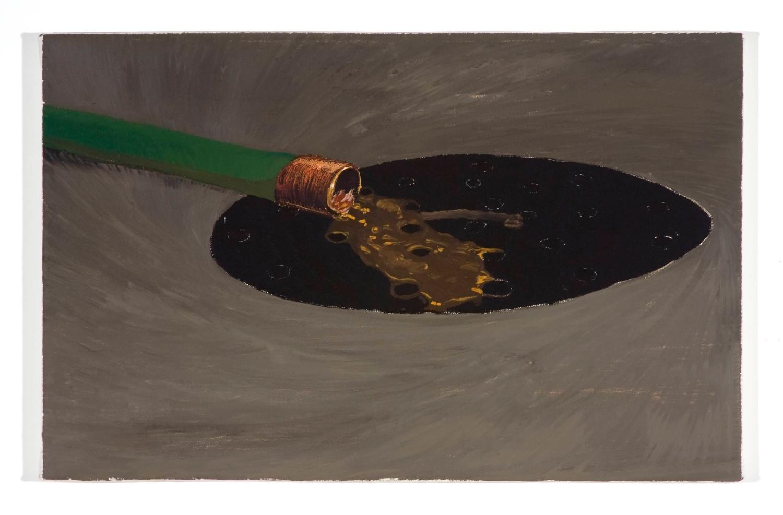 Jesse Chapman  Untitled  2008 Oil on linen 14h x 22w in JC013