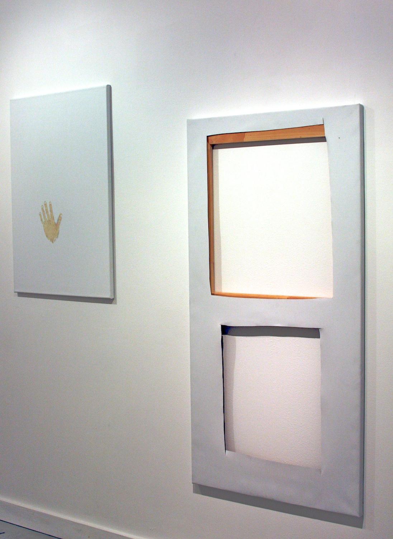 Richard Aldrich Catawampus 2007 Shane Campbell Gallery, Oak Park Installation View