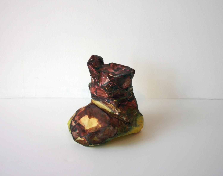 Joanne Greenbaum Unititled 2007 Glazed Stoneware G017