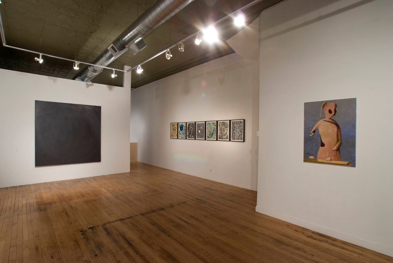 Jesse Chapman, Aliza Nisenbaum, William J. O'Brien 2007 Shane Campbell Gallery, Chicago Installation View