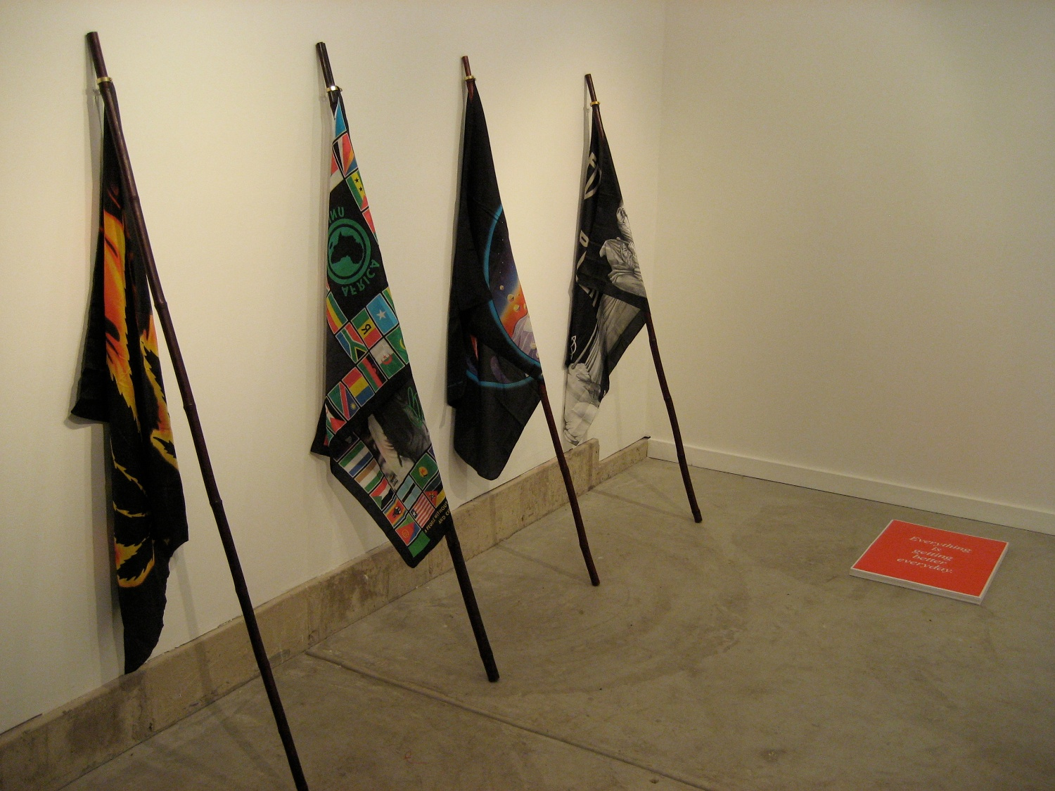 Michael Phelan Everything is getting better everyday 2007 Shane Campbell Gallery, Oak Park Installation View