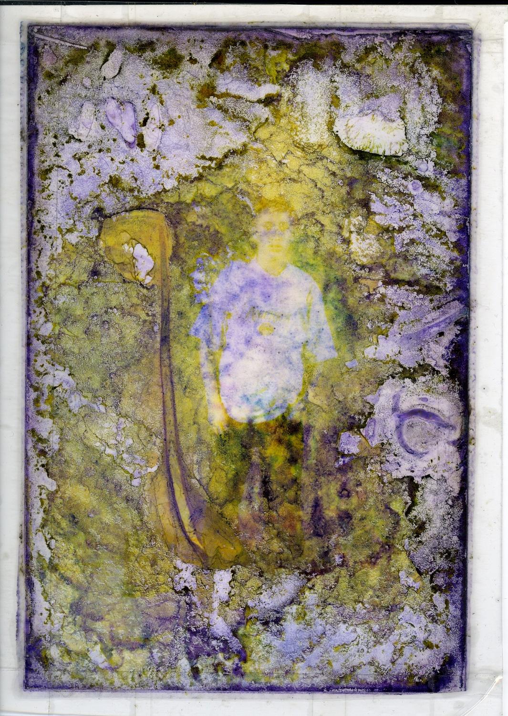 "Niles Fairman Untitled 2006 Laminted photograph 6"" x 4"" NF035"