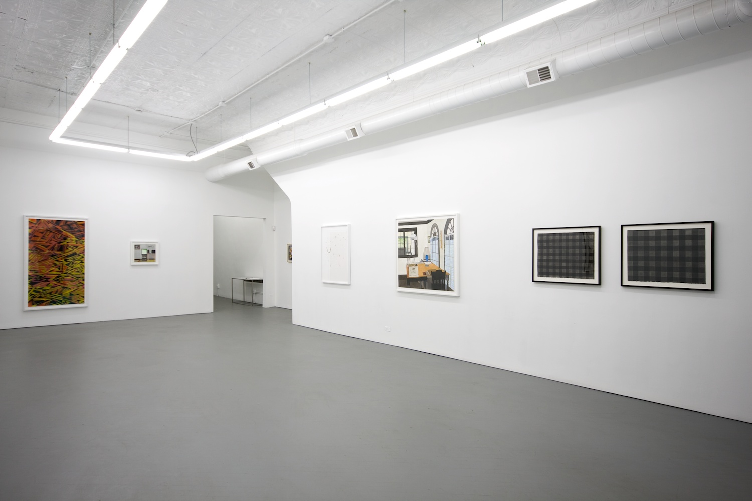 Michelle Grabner, Joanne Greenbaum, Suzanne McClelland, William J. O'Brien, Alex Olson, Jon Pestoni, Amanda Ross-Ho, Lisa Williamson, Jonas Wood Drawing 2010 Shane Campbell Gallery, Chicago Installation View