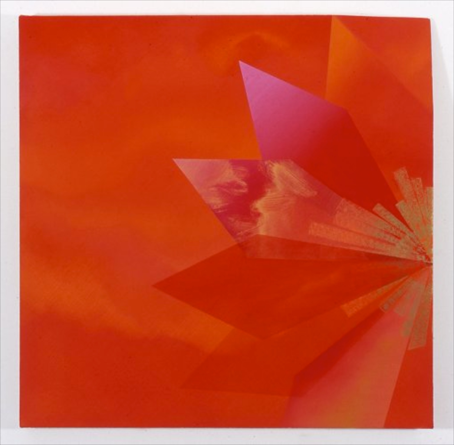 Kim Fisher Padparadscha, 14 2004 Oil on linen 29h x 29w in