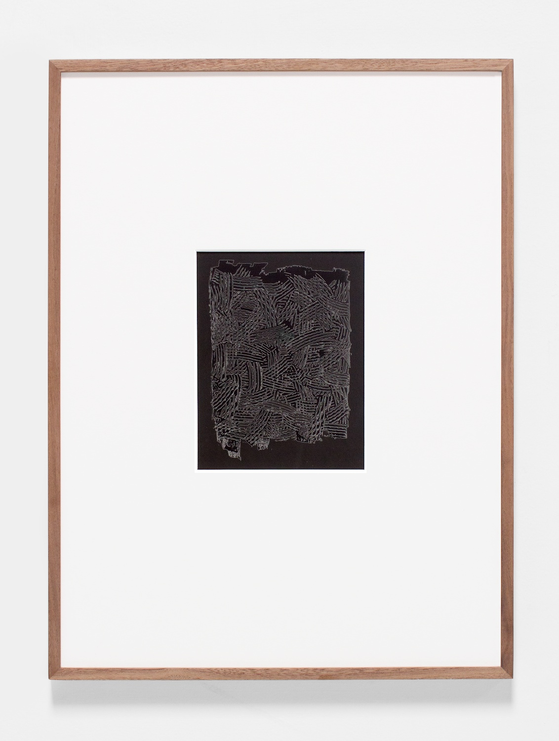 Anthony Pearson  Untitled (Solarization)  2011 Solarized silver gelatin photograph in artist frame 17 ¼h x 14 ½w x ¾d in AP278