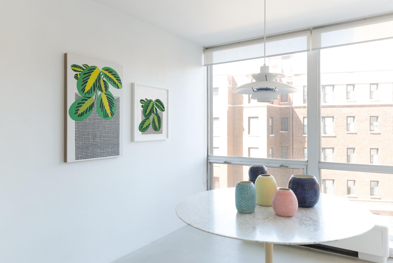 Shio Kusaka, Jonas Wood 2014 Shane Campbell Gallery, Lincoln Park Installation View
