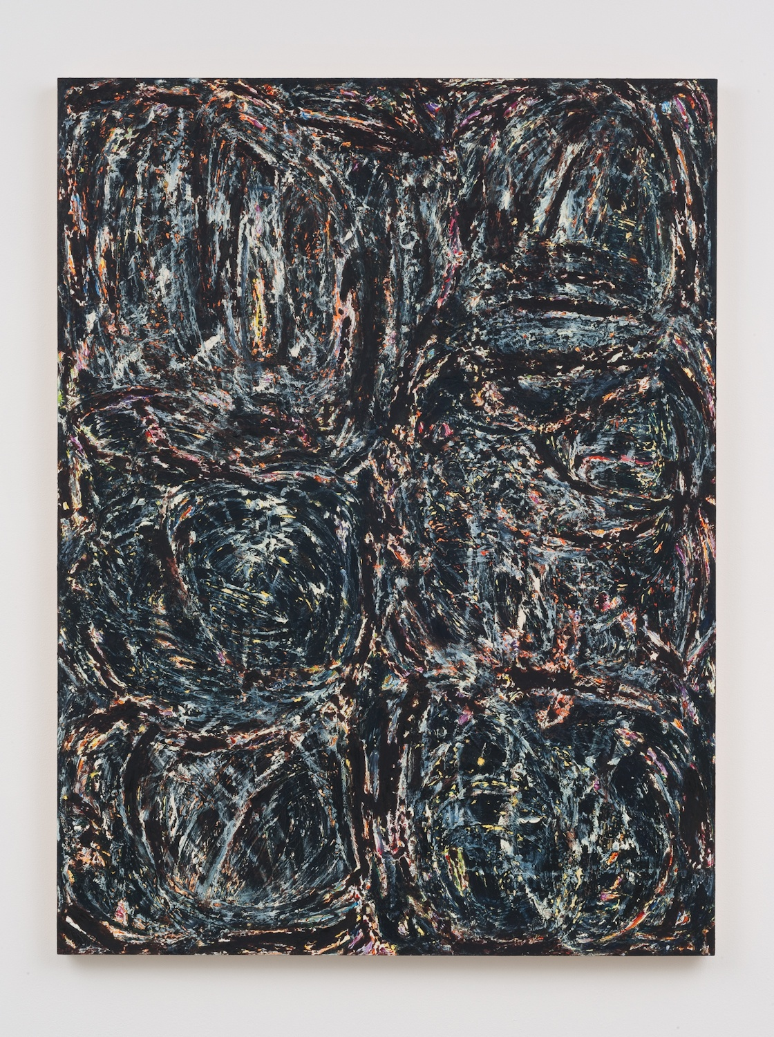 Greg Gong  Untitled  2014 Oil on panel 48h x 36w in GG002