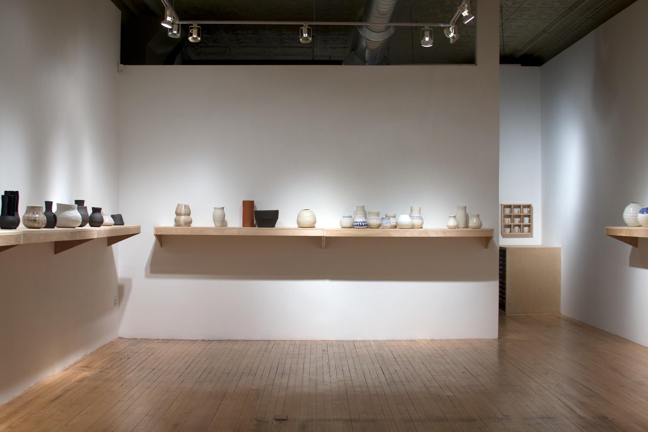 Shio Kusaka   2009   Shane Campbell Gallery, Chicago   Installation View
