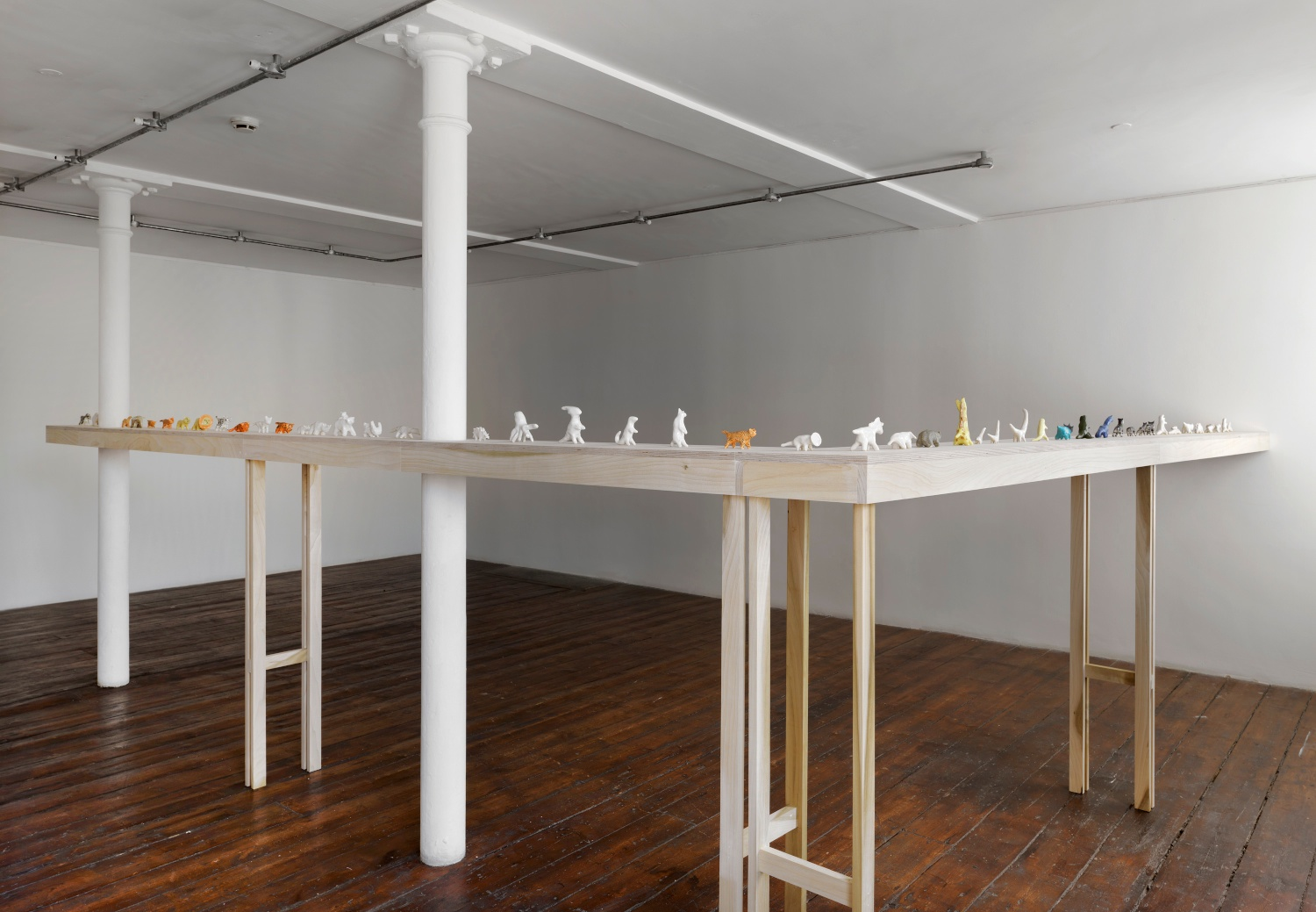 Shio Kusaka 2014 greengrassi, London Installation view