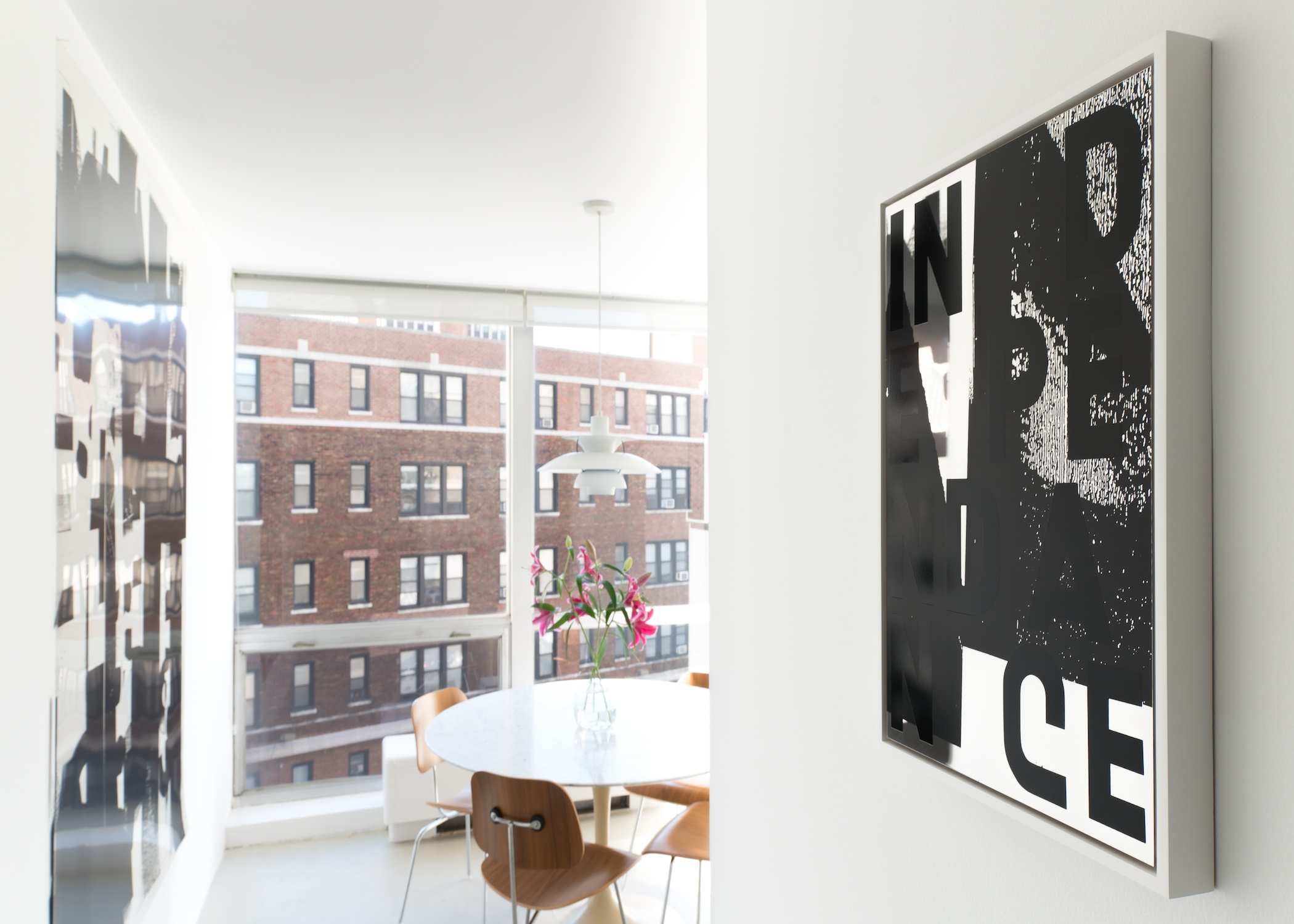 Adam Pendleton Selected Works 2014 Shane Campbell Gallery, Lincoln Park Installation View
