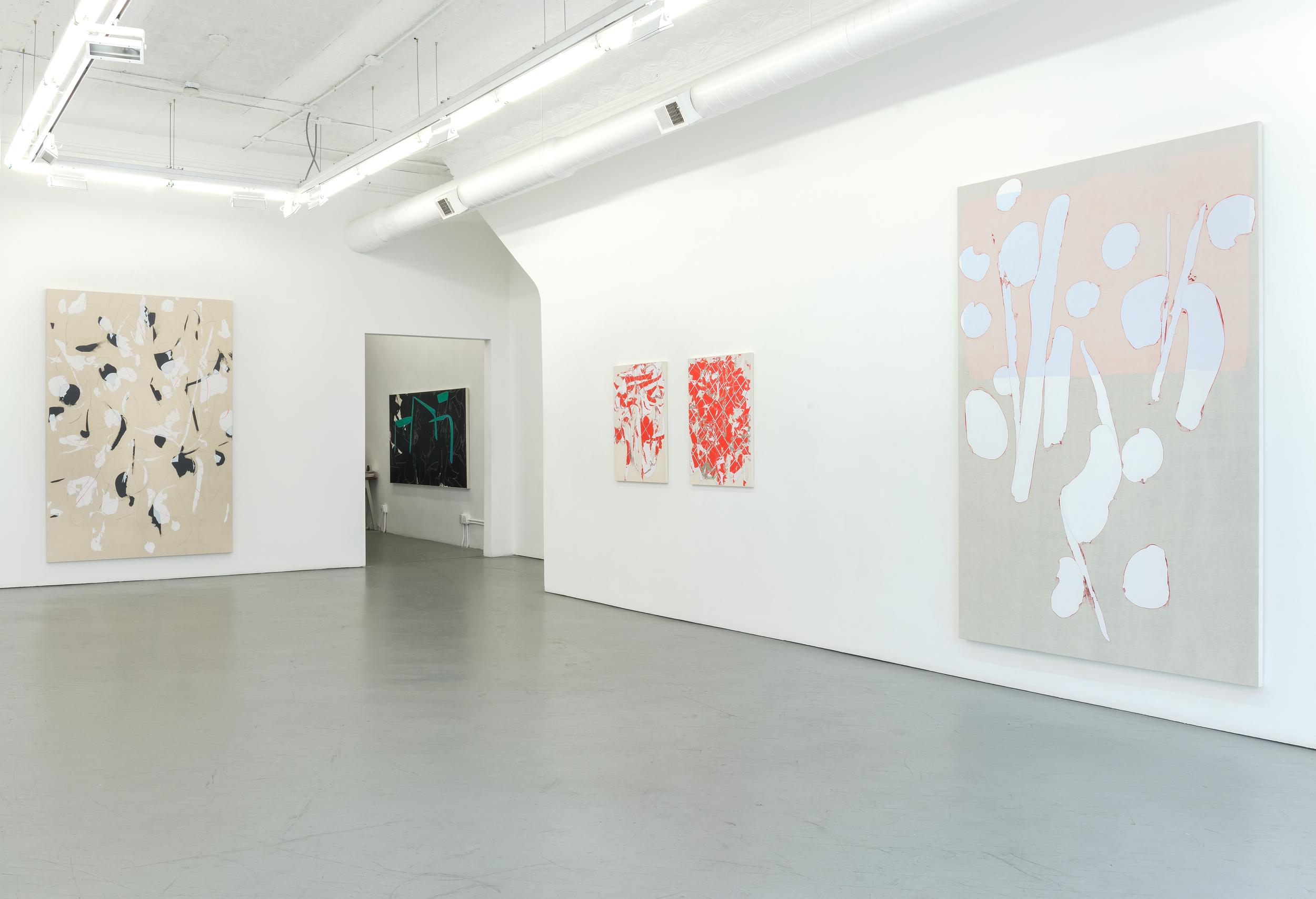 Zak Prekop   2014   Shane Campbell Gallery, Chicago Installation View