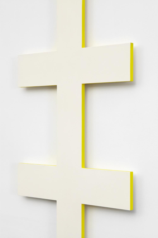 Lisa Williamson  Ladder  (Detail) 2014 Acrylic on aluminum 84h x 18w x 1d in LW142
