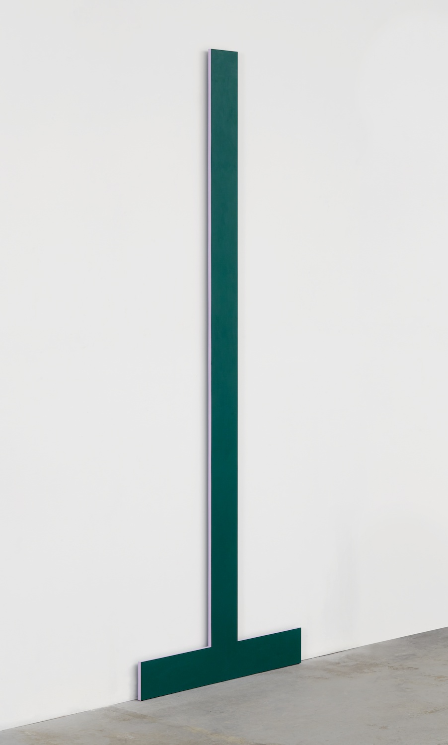 Lisa Williamson  Bookend  2014 Acrylic on aluminum 84h x 30w x 1d in LW145