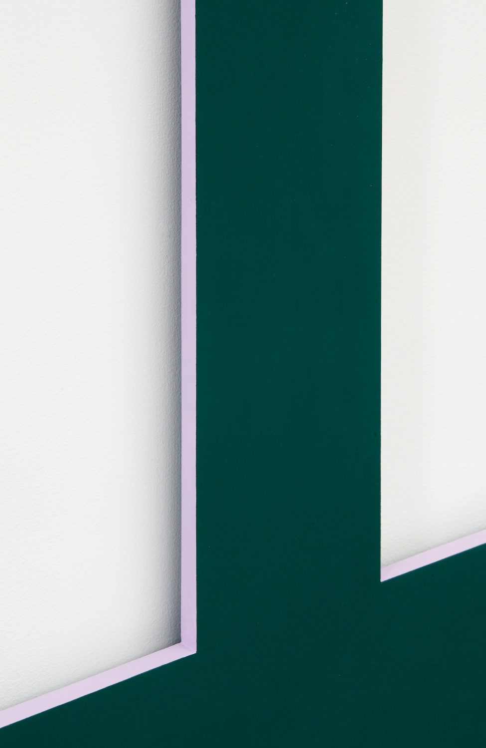 Lisa Williamson  Bookend  (Detail) 2014 Acrylic on aluminum 84h x 30w x 1d in LW145