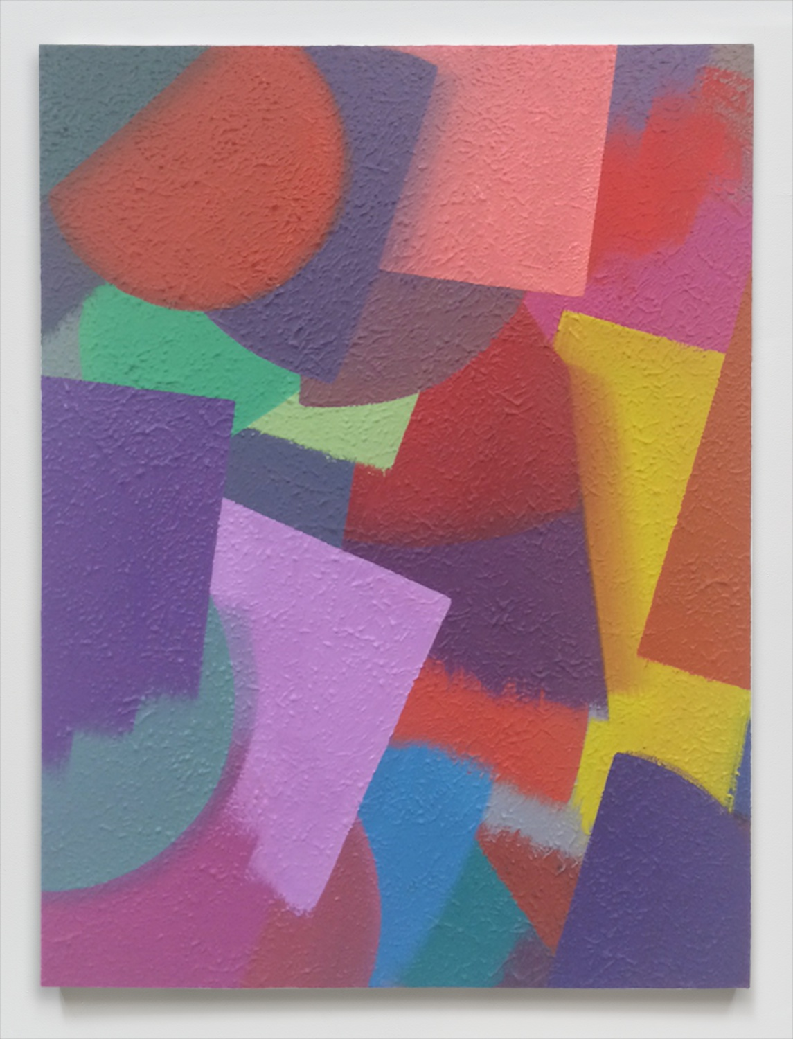 Alex Olson  For the Cyclops (4)  2014 Oil and modeling paste on linen 24h x 18w in AO159