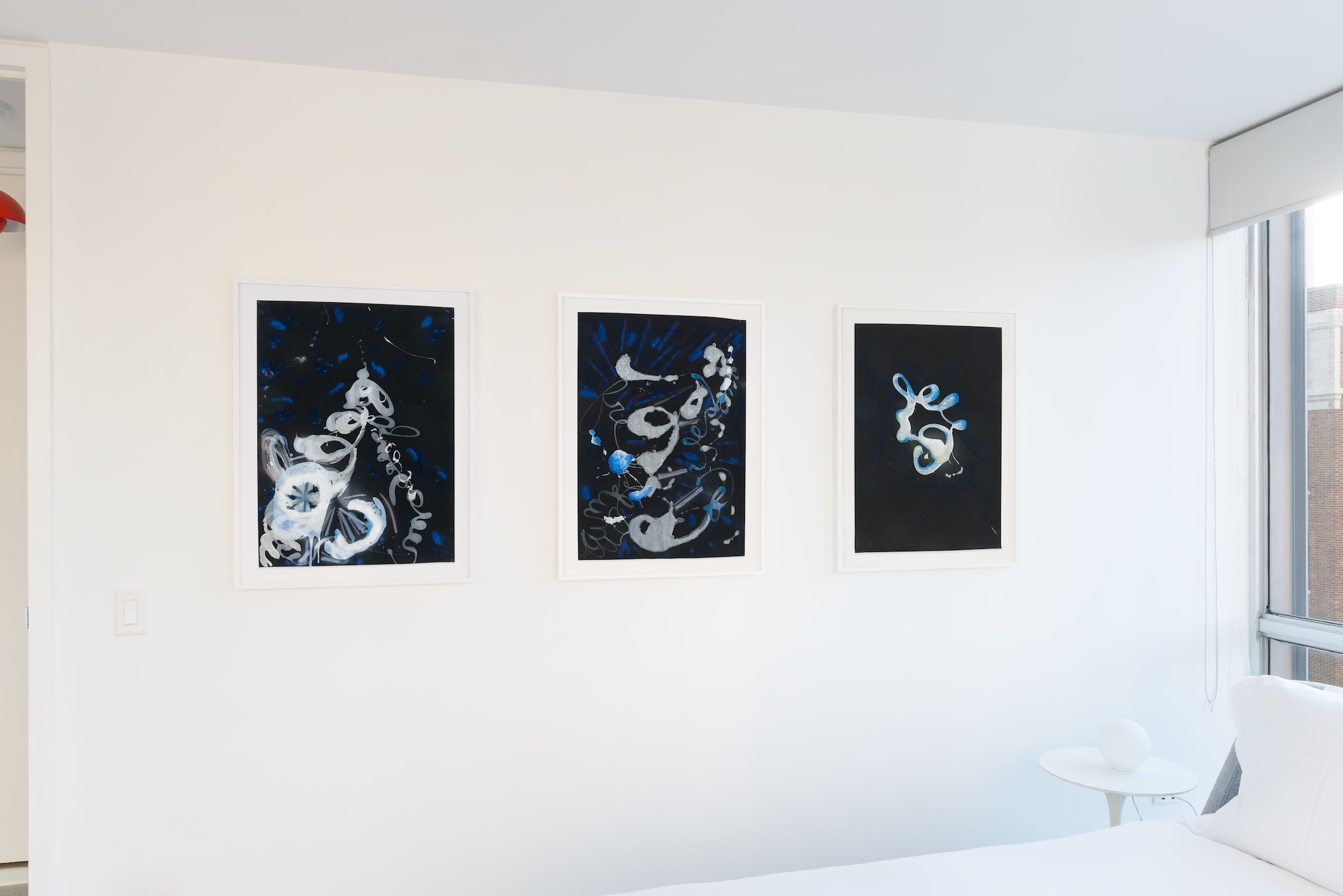 Suzanne McClelland Zero Plus Zero 2014 Shane Campbell Gallery, Lincoln Park Installation View