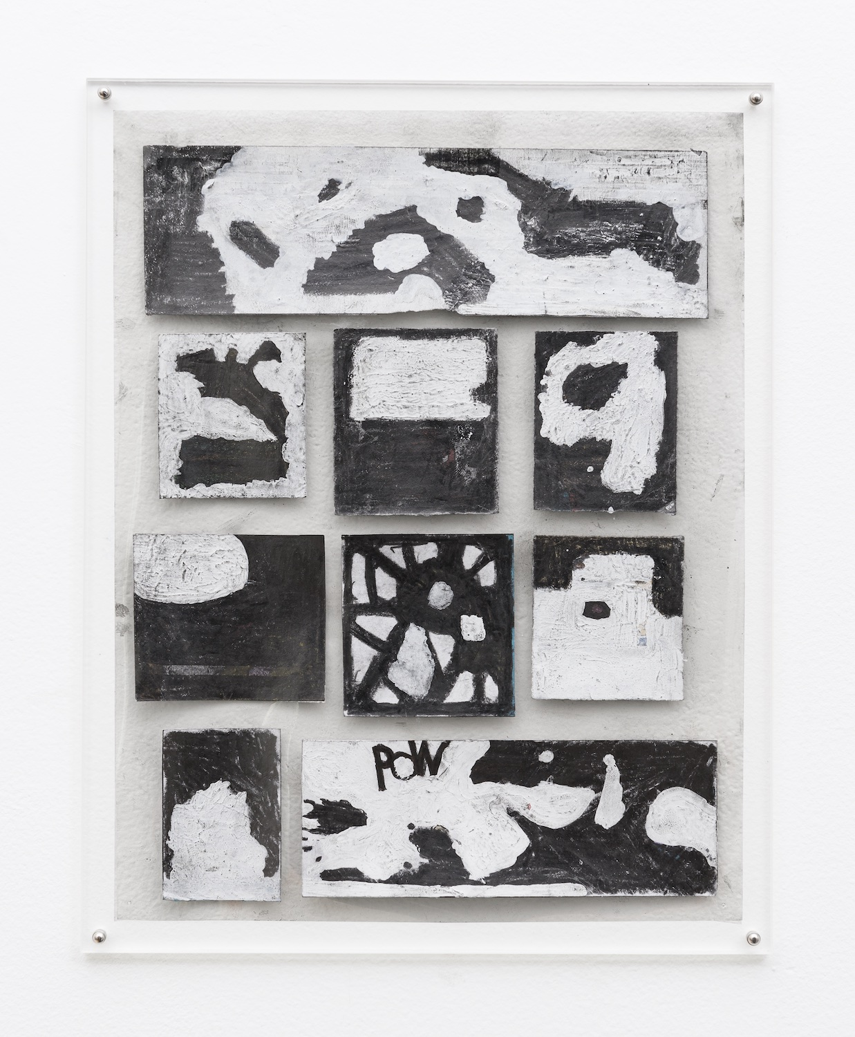 Tony Lewis  They're Not Supposed To Like It!  2014 Pencil and graphite powder on paper and transparency 11h x 8 ½w in TL245