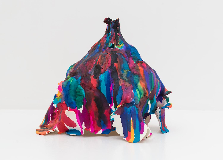 Joanne Greenbaum  Untitled  2010 Paper clay 13h x 13w x 15d in JG083