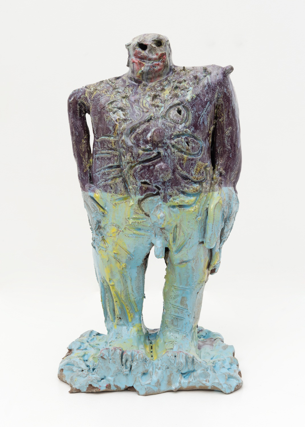 William J. O'Brien  Untitled  2015 Glazed ceramic 20 ¾h x 10w x 10 ½d in WOB997