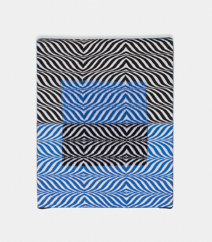 Samantha Bittman  Untitled  2016 Acrylic on hand-woven textile 20h x 16w in SBitt002