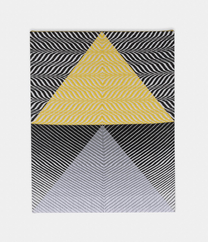 Samantha Bittman  Untitled  2016 Acrylic on hand-woven textile 30h x 24w in SBitt003