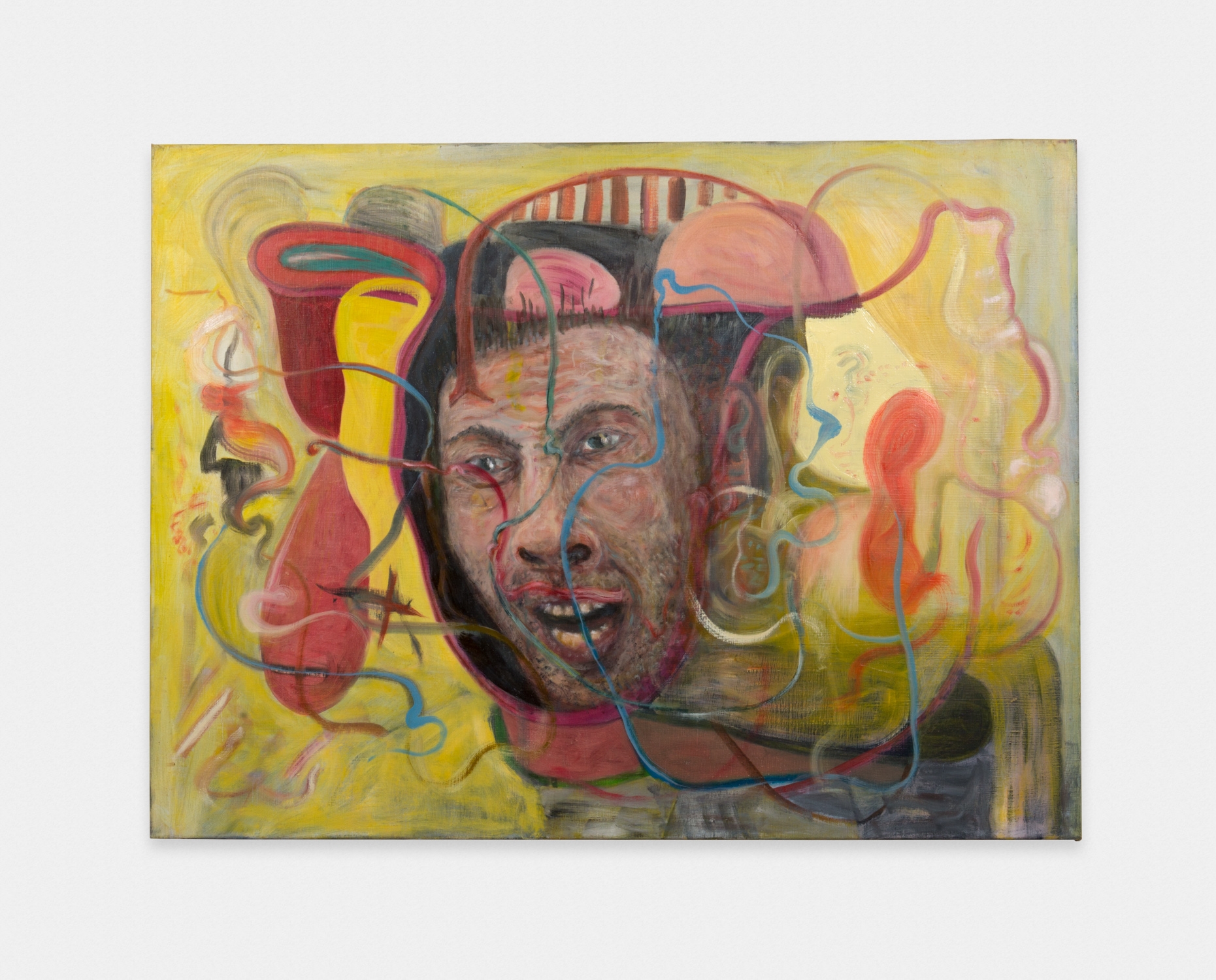 Jim Lutes  Old Yeller  1997/2016 Oil on linen 30h x 40w in JLutes001
