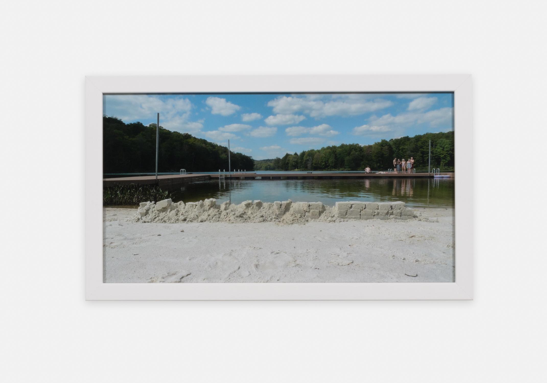 Eliza Myrie  Sandwall, Starlight  2015 Digital photograph 8 ⅓h x 15w in (artwork); 10h x 17w in (framed) 1 of 3 EM001