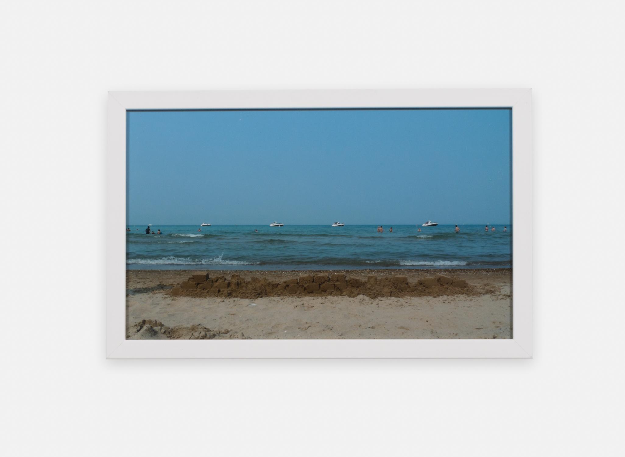 Eliza Myrie  Sandwall, Chicago  2015 Digital photograph 9 ⅛h x 15w in (artwork); 10h x 17w in (framed) 1 of 3 EM003