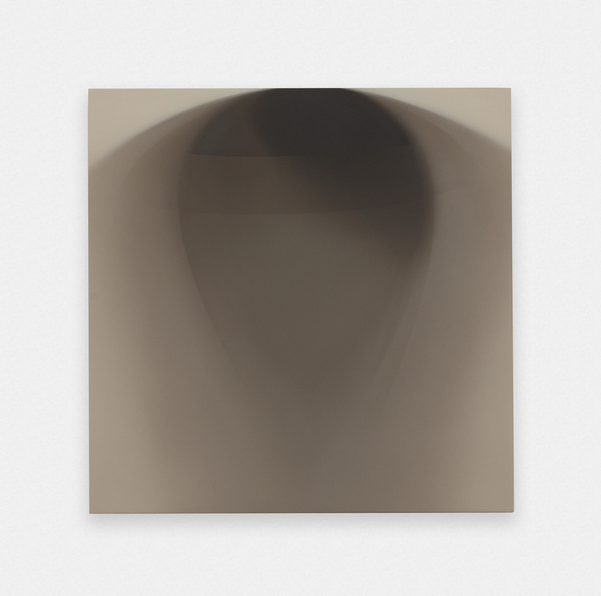 Matthew Metzger  The Shadow of The Record Single Side A  2015 Oil on MRMDF 11 ¾h x 11 ¾w in MMet002