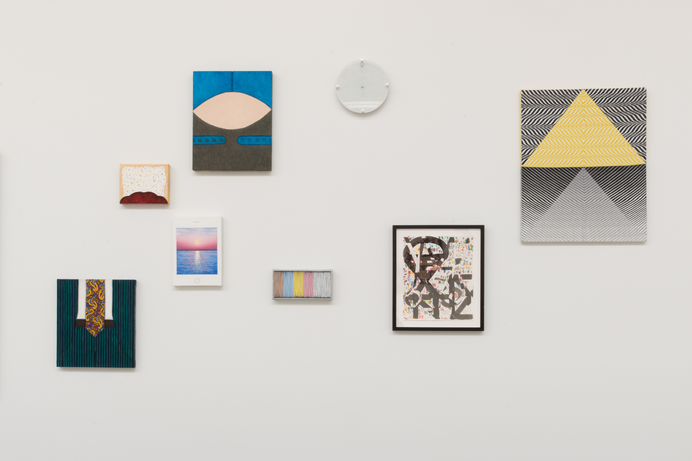 Chicago and Vicinity 2016 Shane Campbell Gallery, South Loop Installation view