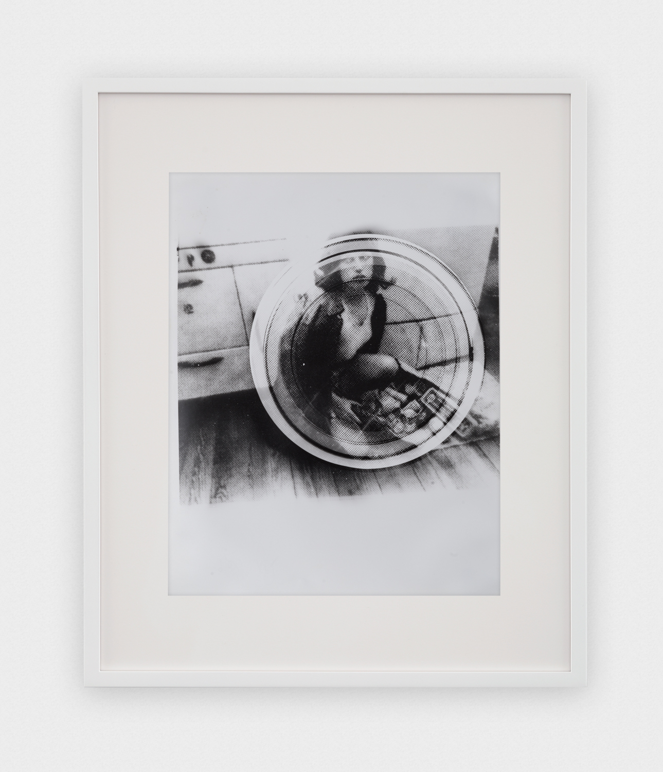 Jason Meadows  Concentric Test Strip, Cindy Sherman Bootleg #1  2016 Selenium-toned silver gelatin print 14h x 10w in JM047