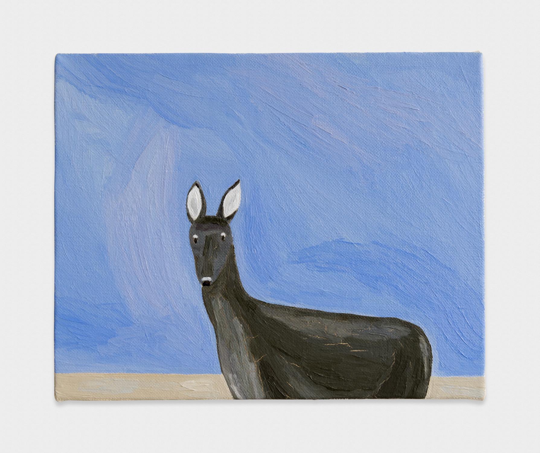 Yuko Murata  Muskt  2013 Oil on canvas 8 ⅔h x 10 ⅘w in YukoM003