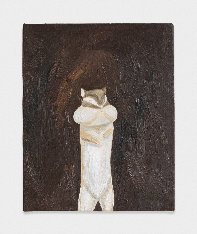 Yuko Murata  Grandma said  2012 Oil on canvas 10 ¾h x 12 ⅕w in YukoM001