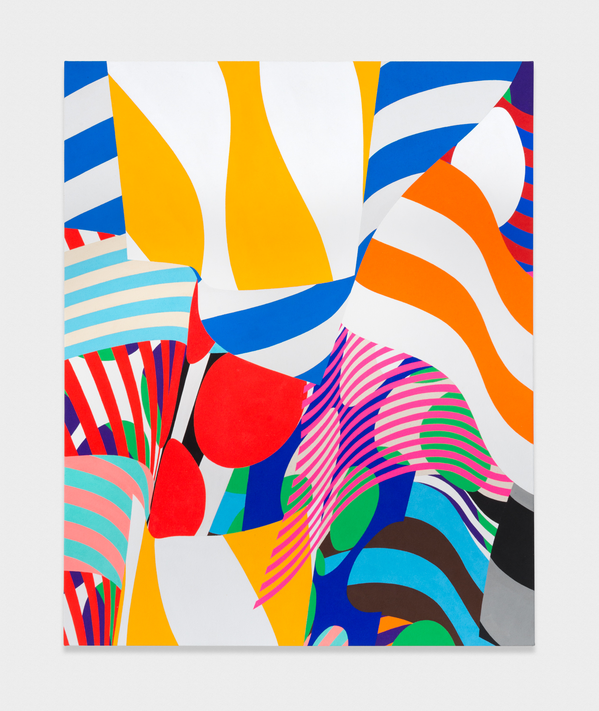 Shunsuke Imai  Untitled  2017 Acrylic on canvas 27 ½h x 22w in SI001