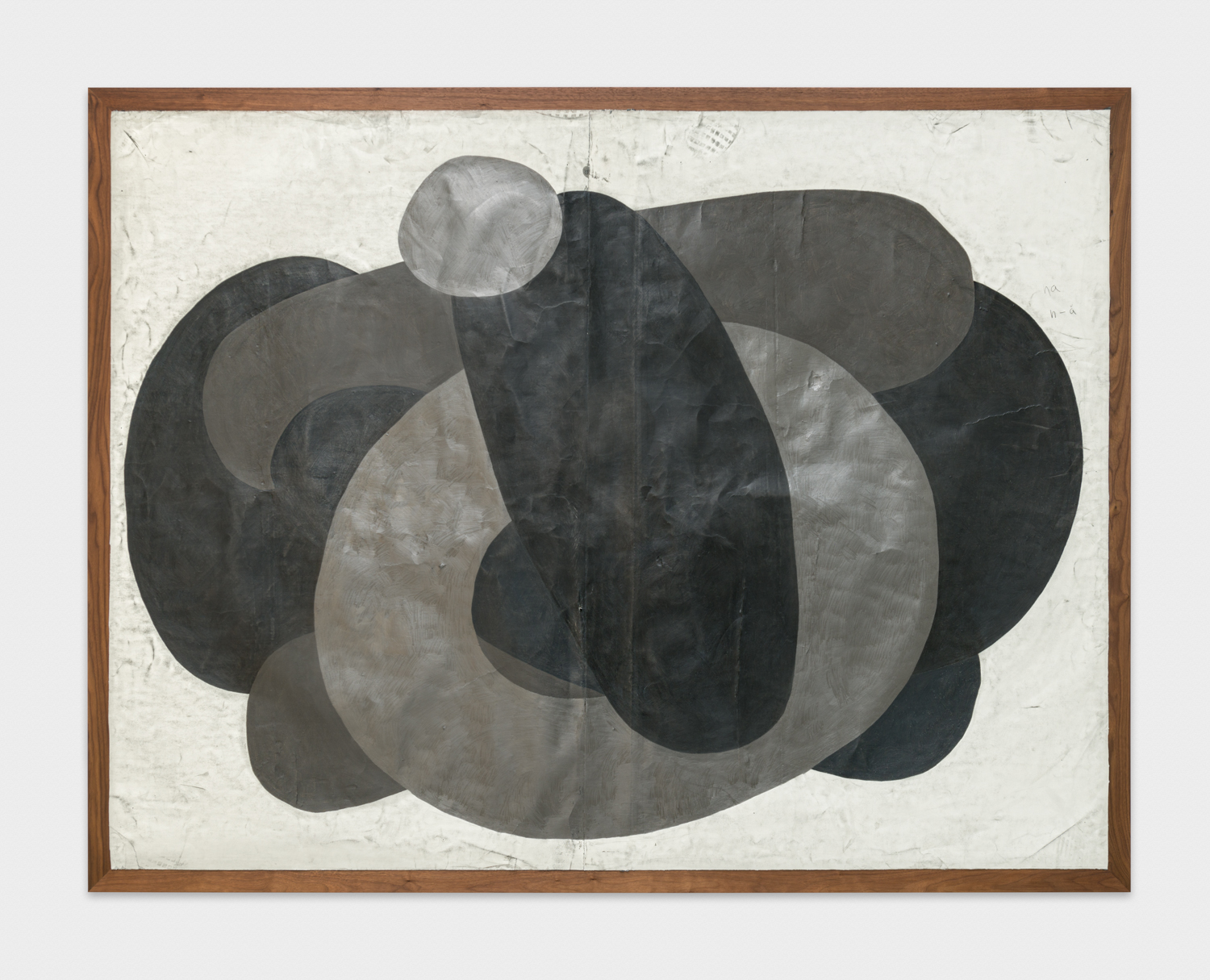 Tony Lewis  Ha!  2017 Graphite, pencil, and colored pencil on paper mounted on wood 78h x 100w x 2d in TL434