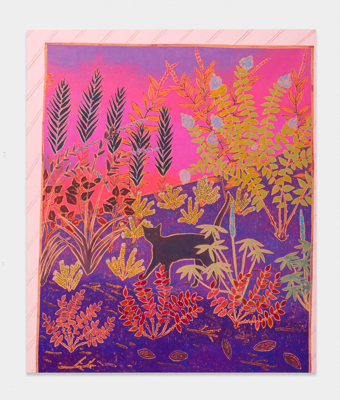 John McAllister  once were wild  2017 Oil on canvas 72h x 61w in JMC022