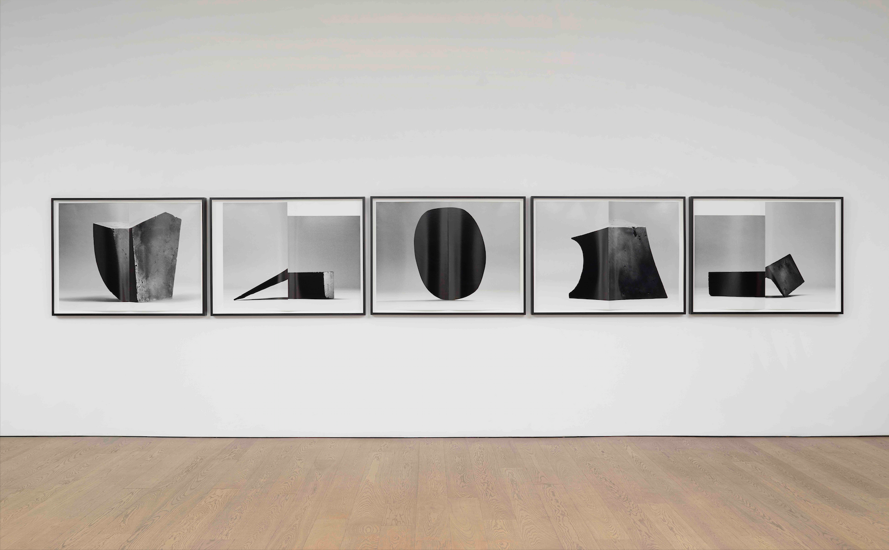 Erin Shirreff  Monograph (no. 3)  2012 Five archival pigment prints Each 34h x 46w in, with fold