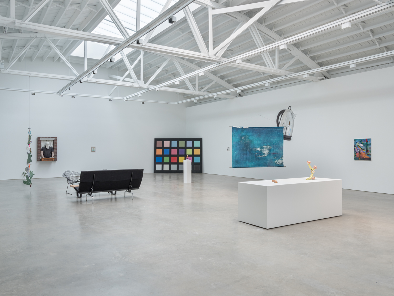 This is a Pipe  2018 Installation view Shane Campbell Gallery, South Loop