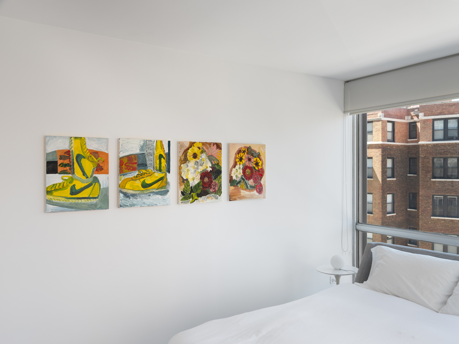 Alex Becerra and Matthew Clifford Green  In Stereo  2018 Installation view Shane Campbell Gallery, Lincoln Park