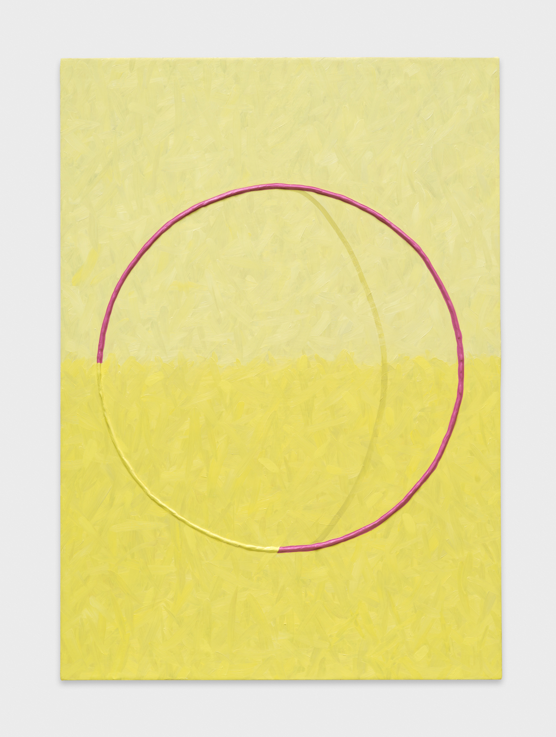 Alex Olson  Lure (4)  2014 Oil and modeling paste on linen 41h x 29w in AO157