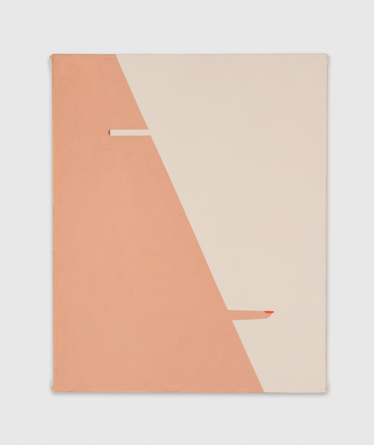 Alice Tippit  Close  2016 Oil on canvas 16h x 13w in ATip003