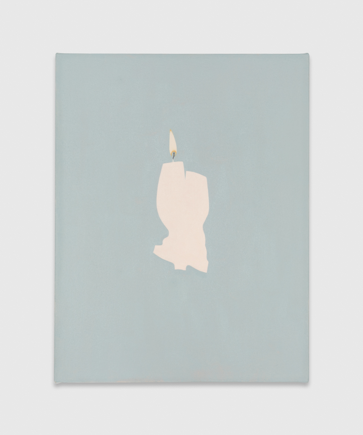 Alice Tippit  Pine  2017 Oil on canvas 17h x 14w in ATip002