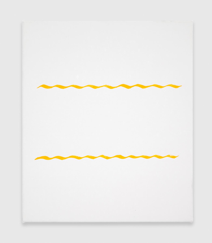Paul Cowan  Untitled  2012 Enamel on canvas 20h x 17w in PC020