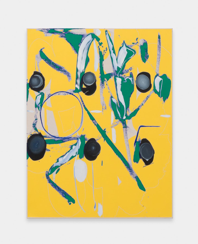 Zak Prekop  Untitled  2016 Oil on canvas 35h x 27w in ZP346