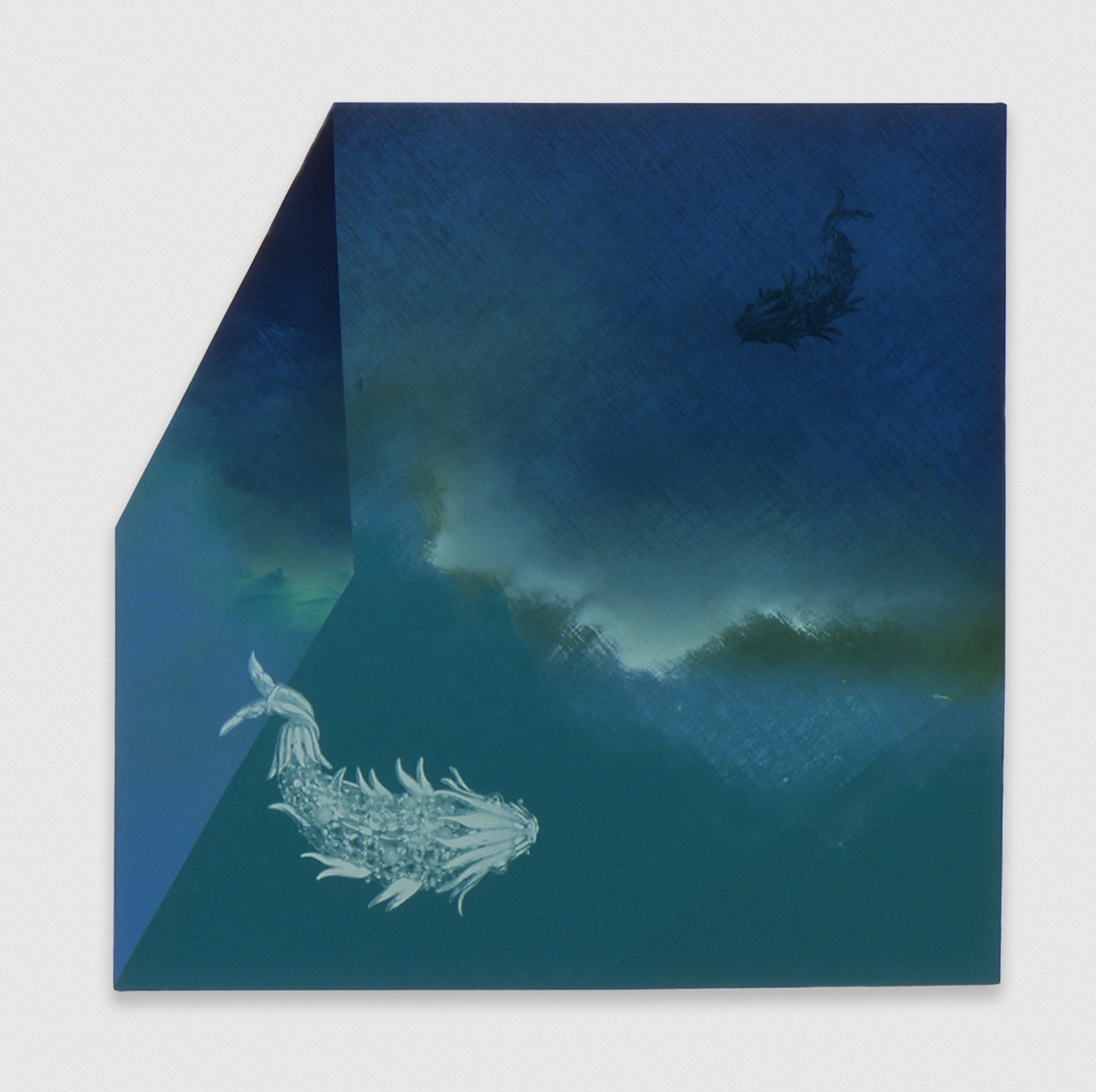 Kim Fisher  Tourmaline, 4  2004 Oil on linen 29h x 29w in KF004